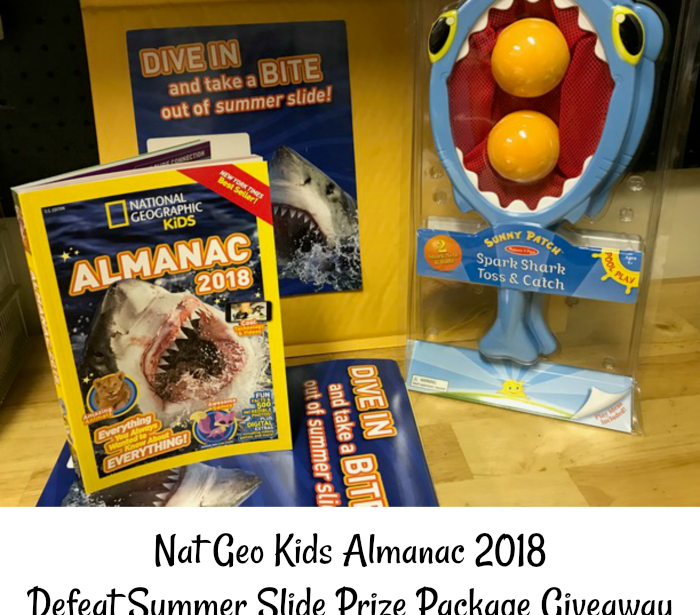 National Geographic Kids Almanac Defeat Summer Slide Giveaway