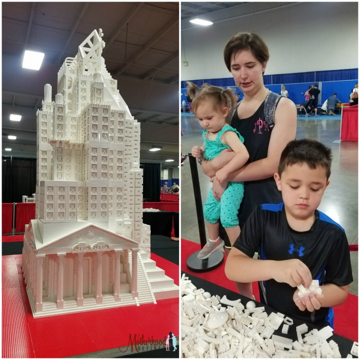 Brick Fest Live Kansas City Sculpture and Build Areas