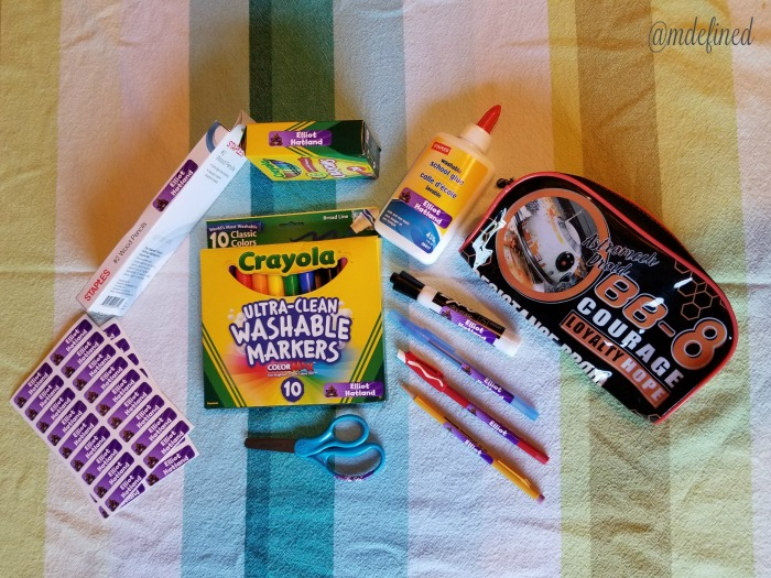 MDefined Back To School Prep with Label Daddy