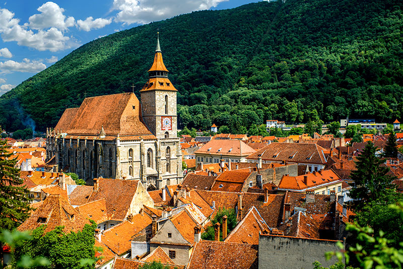 10 Interesting Places in Eastern Europe: Brasov, Romania
