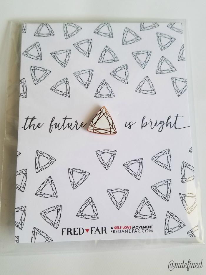 Fred + Far Self-Love Pin – Value $12