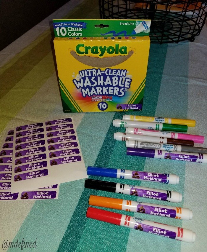 Label Daddy is great to label your markers