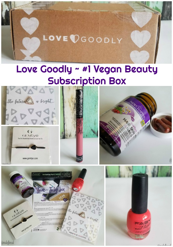 Review: Love Goodly is the #1 Vegan Beauty Subscription Box