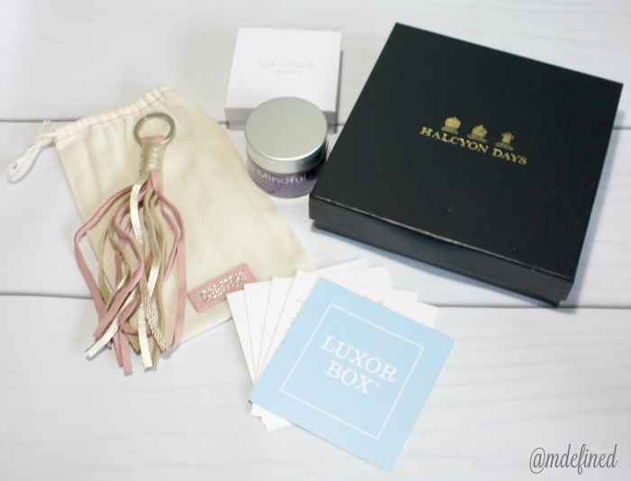 Luxor Box July Luxury Contents $498 Value