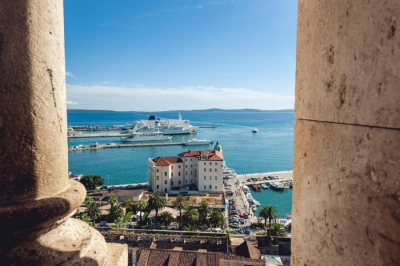 10 Interesting Places in Eastern Europe: Split, Croatia
