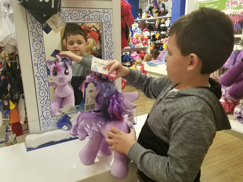 Build A Bear Brushing Station