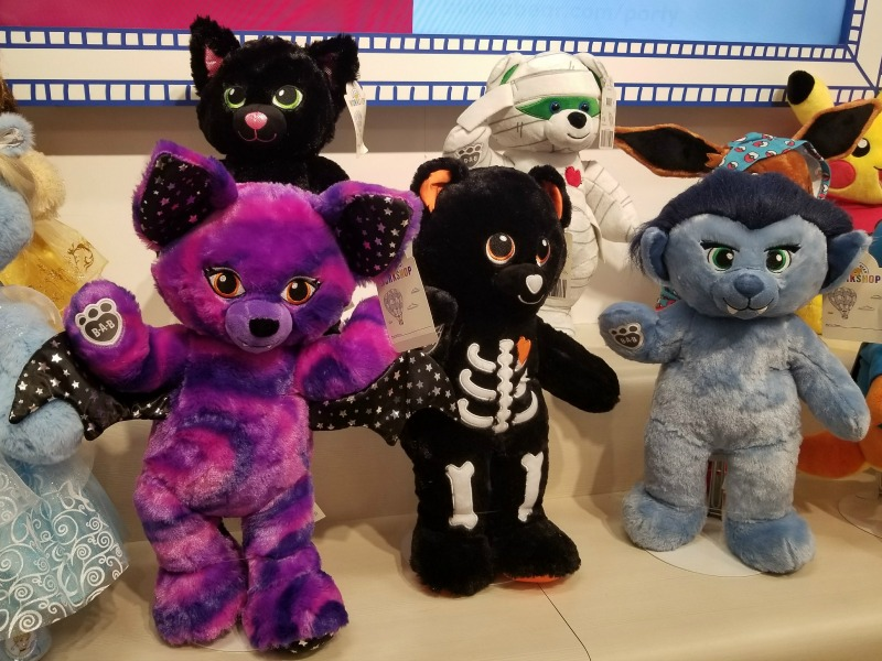 Build A Bear Halloween Selection 2017