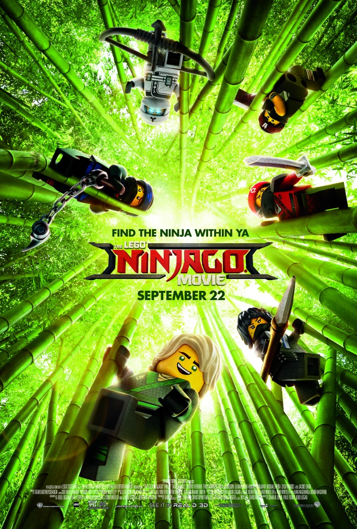 The LEGO NINJAGO Movie (Film Giveaway)