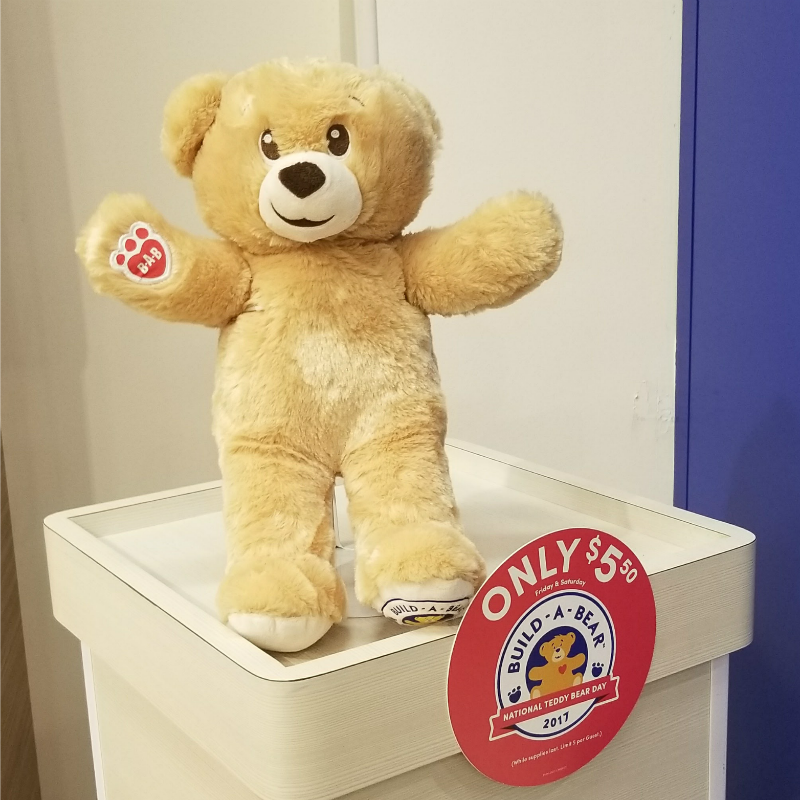 Build A Bear National Teddy Bear Day Bear