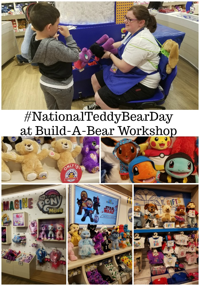 #NationalTeddyBearDay at Build-A-Bear Workshop