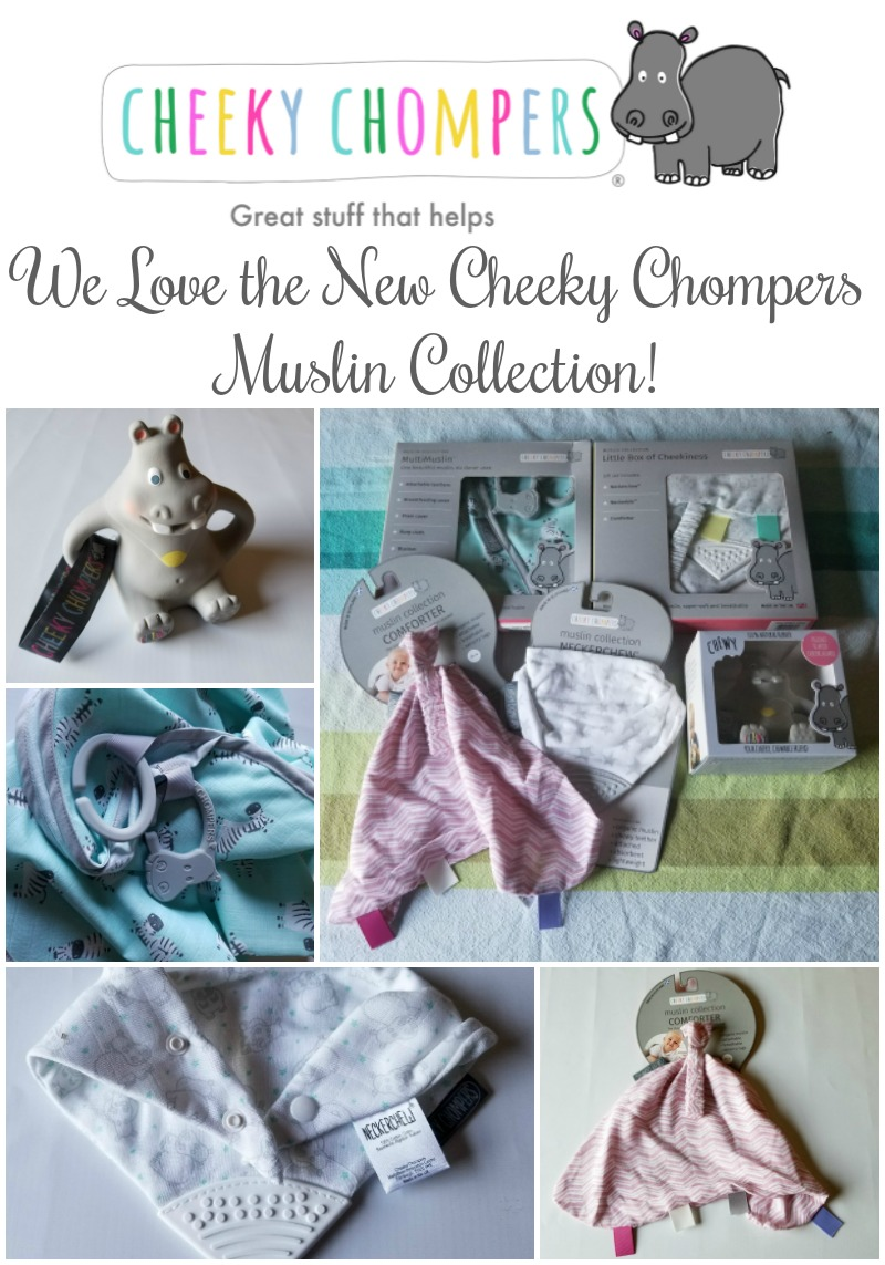 We Love the New Cheeky Chompers Muslin Collection for Baby