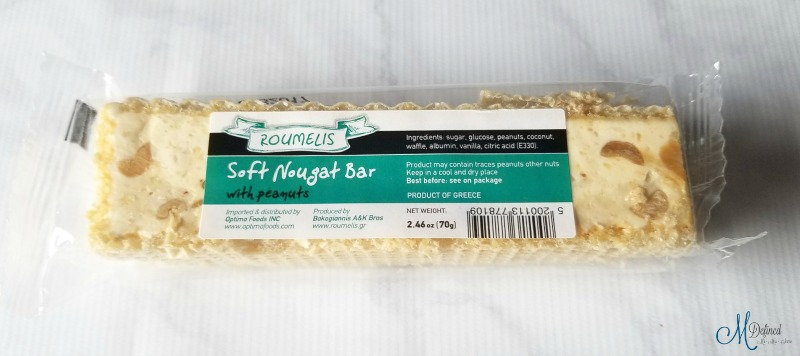 Roumelis Soft Nougat Bar with Peanuts
