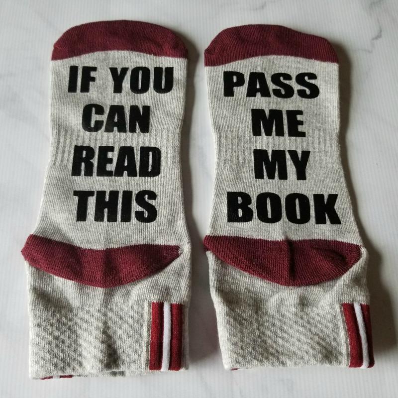PageHabit October Romance Box - Book Socks