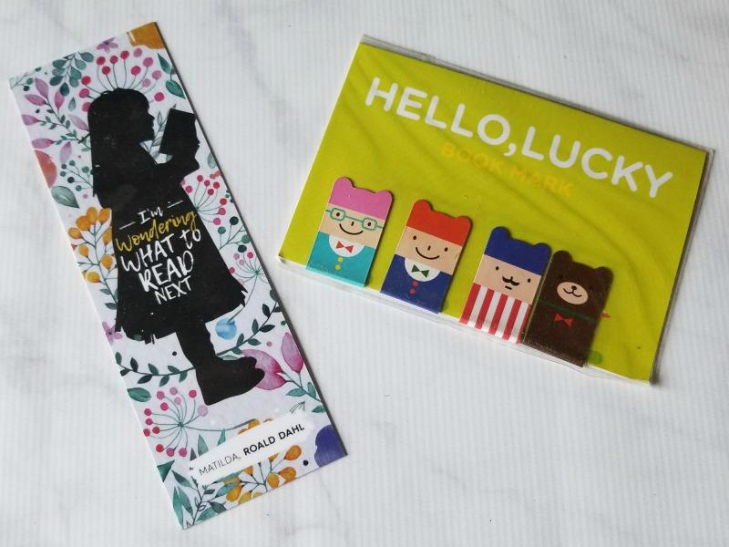 PageHabit October Romance Box - Bookmarks
