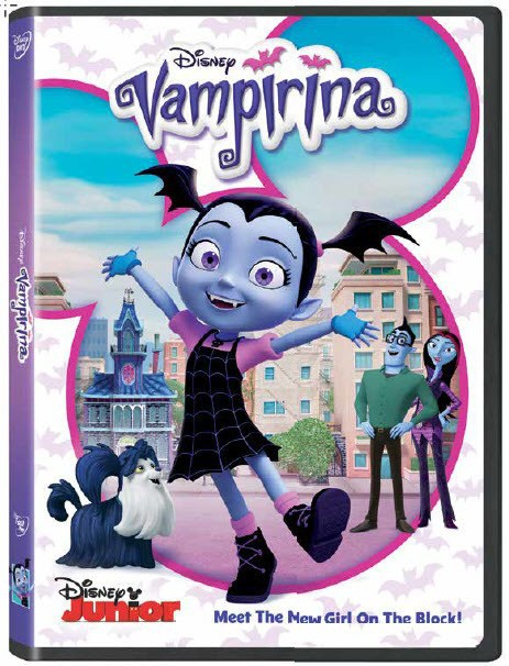 Available Just In Time For Halloween: Disney's Vampirina