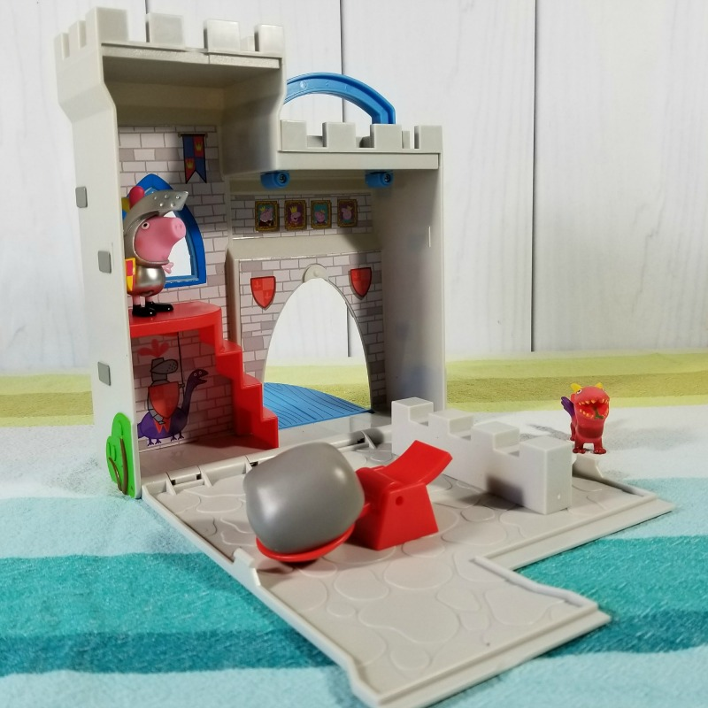 Best Toys for Girls: Peppa Pig Little Castle Fort Playset #HotHolidayGifts2017