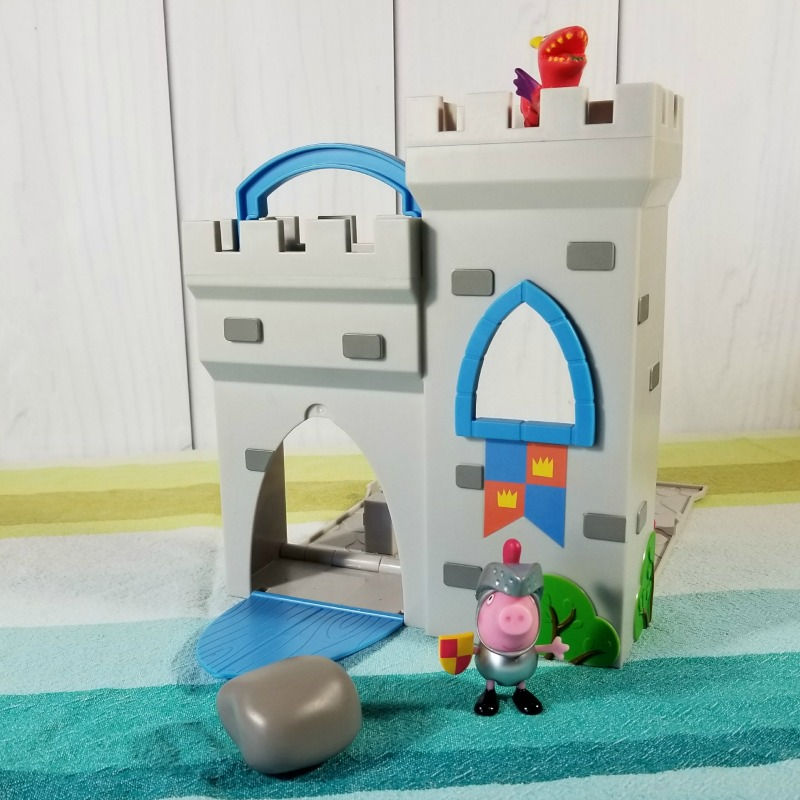 Peppa Pig Little Castle Fort Playset #HotHolidayGifts2017