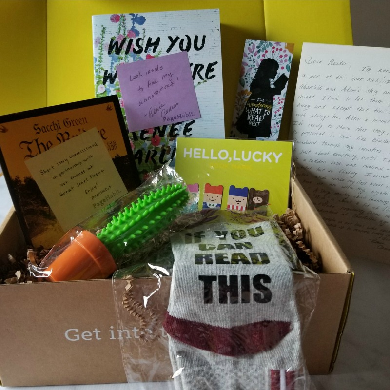 PageHabit October Romance Box