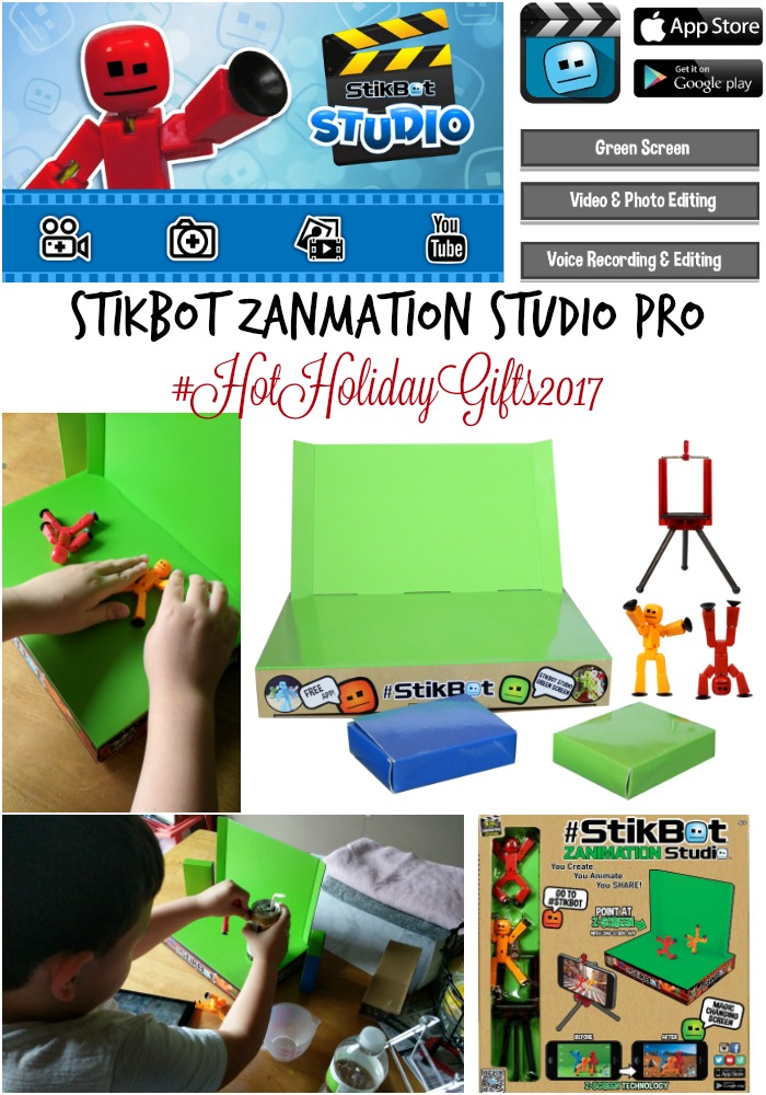 Best Toys for Boys: Stikbot Zanmation Studio Pro #HotHolidayGifts2017