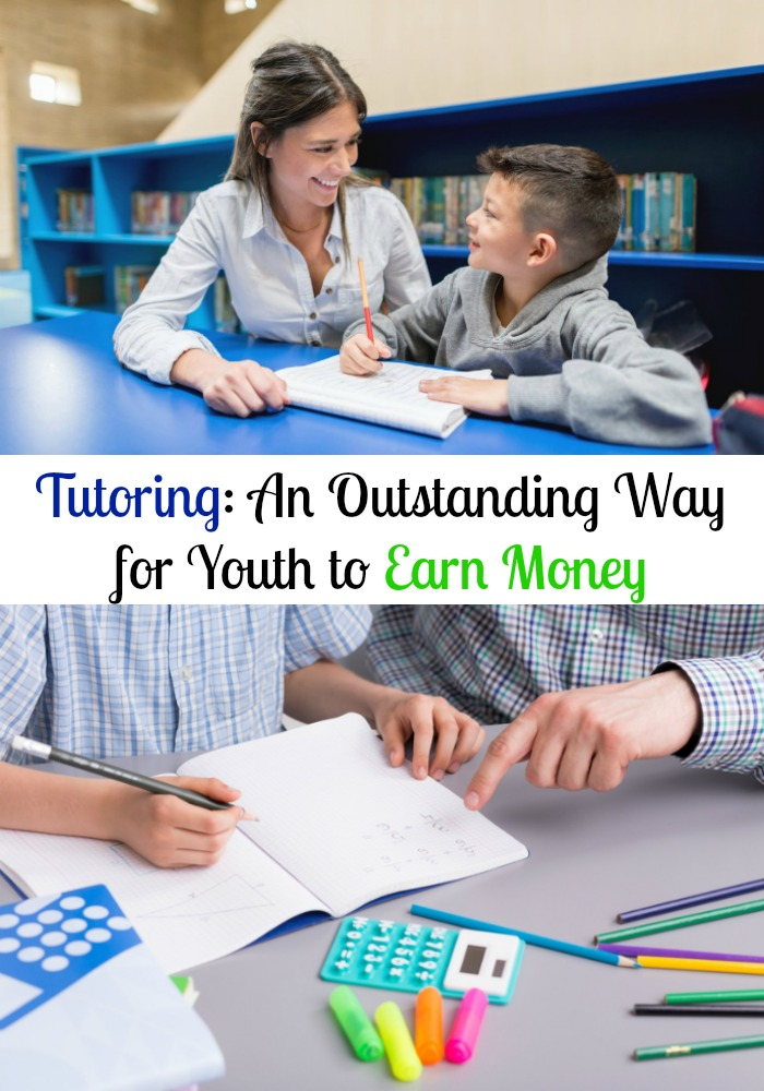 Tutoring: An Outstanding Way for Youth to Earn Money