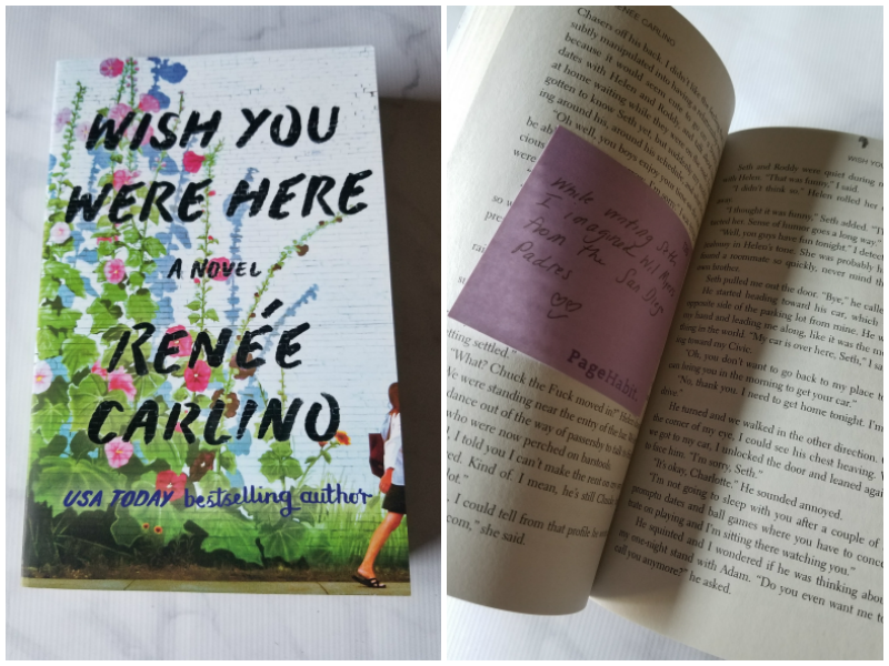 """Wish You Were Here"" by Renée Carlino"