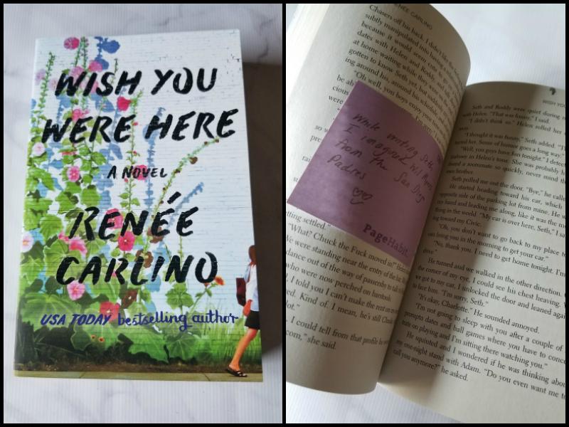 """""""Wish You Were Here"""" by Renée Carlino"""