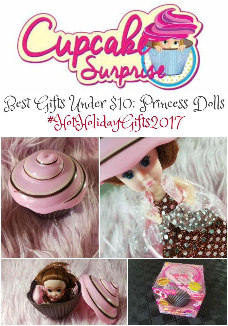 Best Gifts Under $10: Cupcake Surprise Princess Dolls