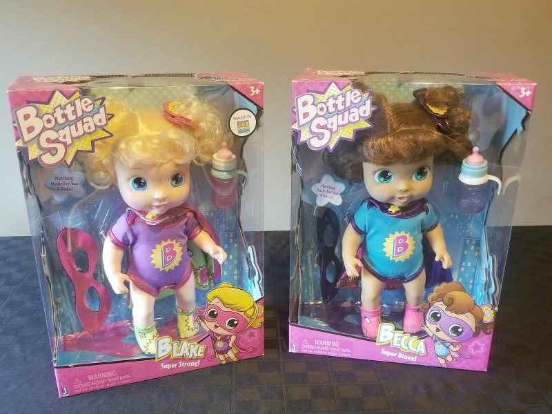 Get Ready for a New Superbaby with @Jazwares Bottle Squad Dolls #HotHolidayGifts2017