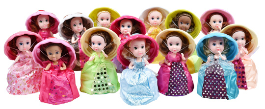 Best Gifts Under $5: Cupcake Surprise Princess Dolls