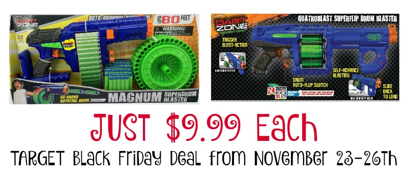 Dart Zone Target Black Friday Deal