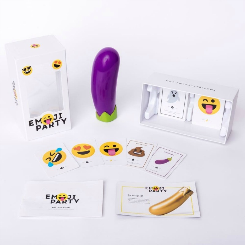 Emoji Party - The Eggplant Grabbing Party Game