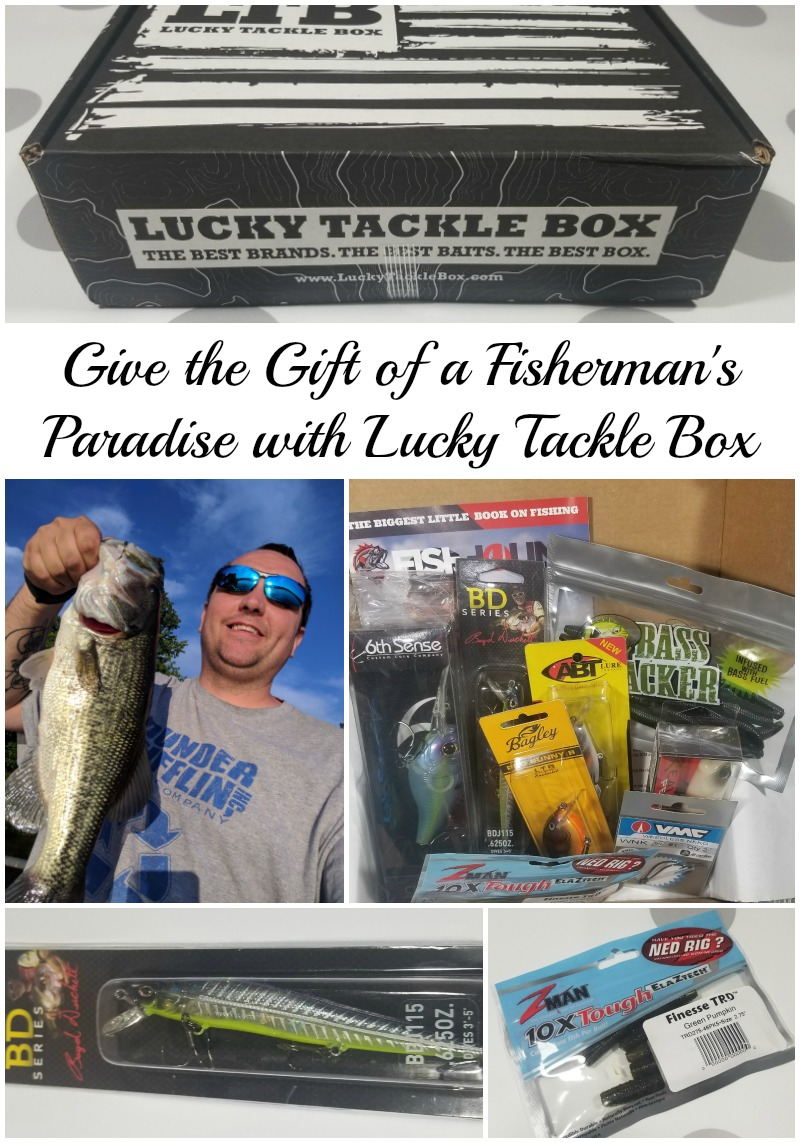 Give the Gift of a Fisherman's Paradise with Lucky Tackle Box #HotHolidayGifts2017