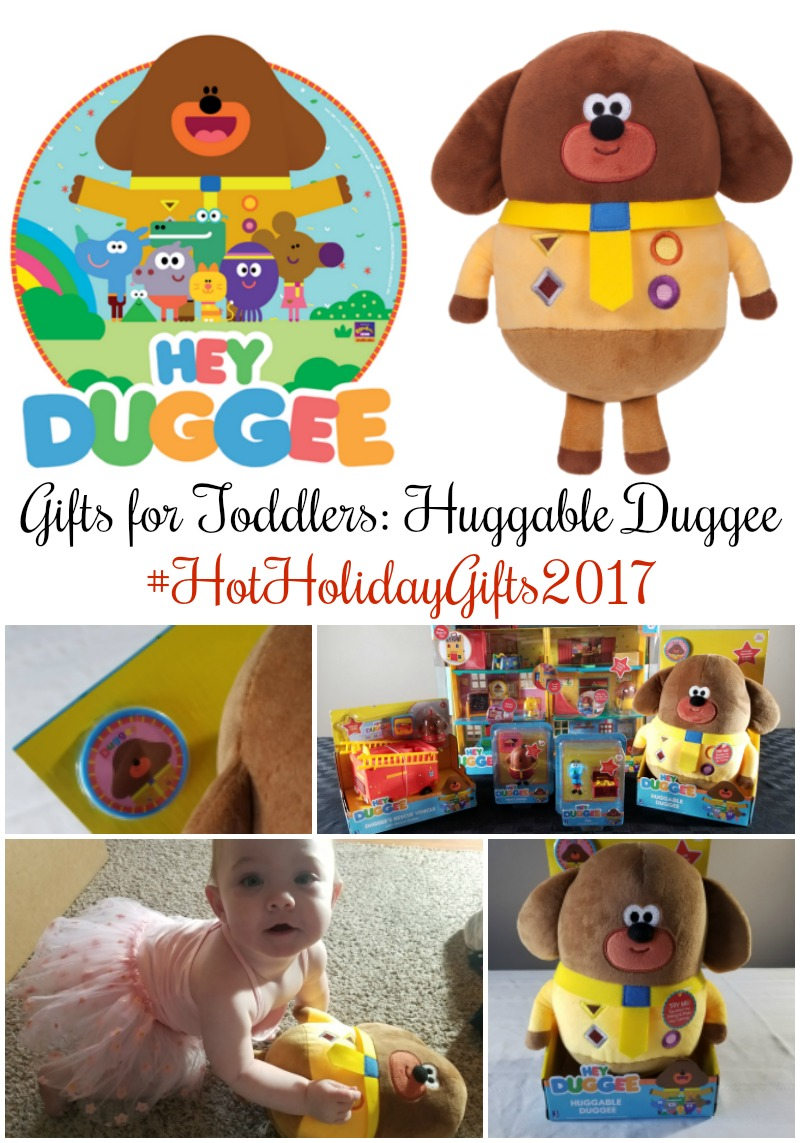 Gifts for Toddlers: Jazwares Hey Duggee, Huggable Duggee Plush #HotHolidayGifts