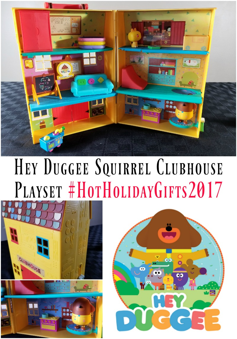 Preschool Kids Toy New HEY DUGGEE Squirrel Clubhouse Playset Play Store /& Go