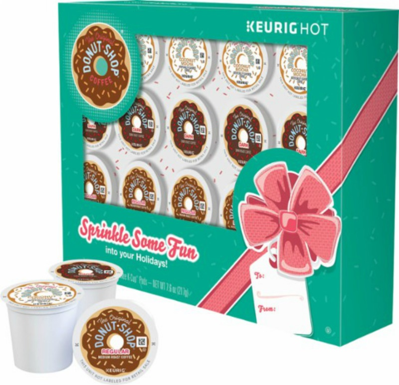 Keurig - Holiday Gift Box Original Donut Shop K-Cup Pods