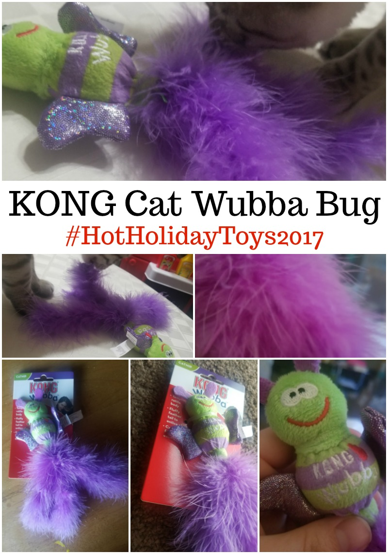 KONG Cat Wubba Bug #HotHolidayGifts2017