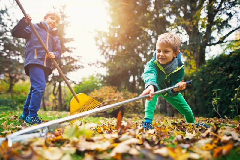 Give Your Kids Chores From An Early Age