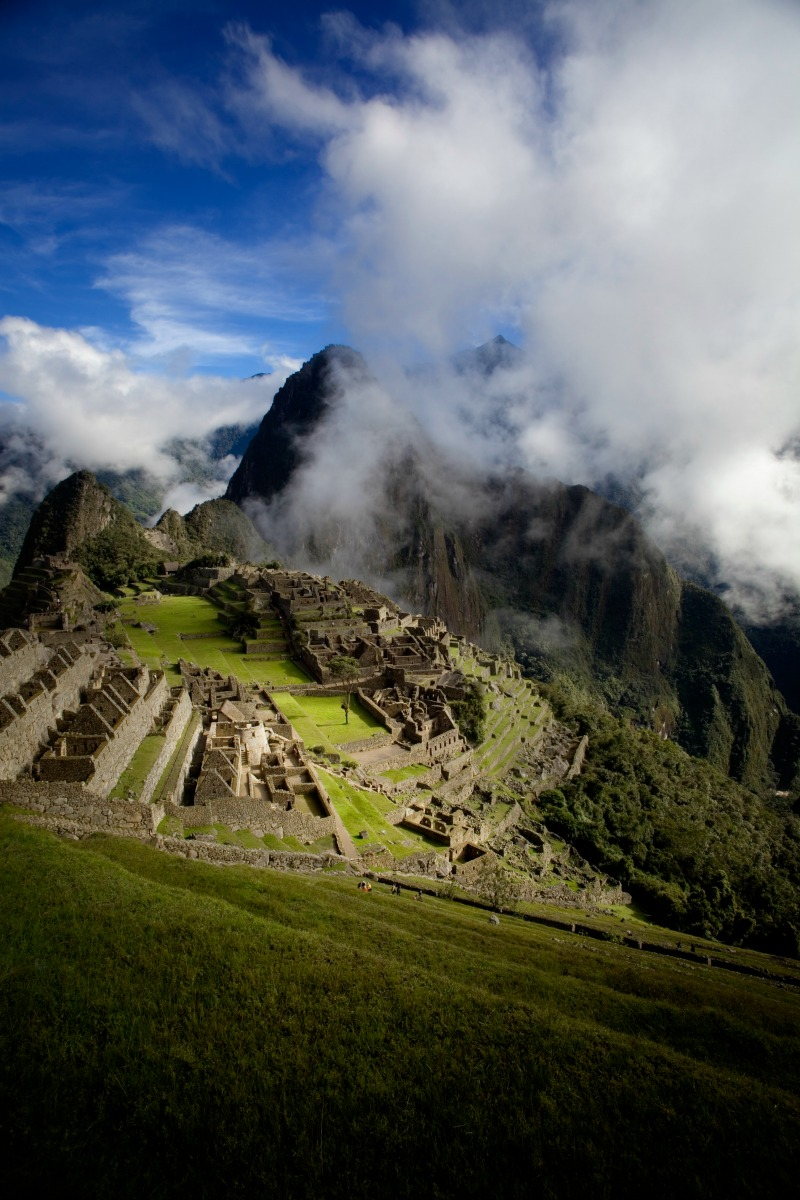 The ancient city of Machu Picchu, Peru