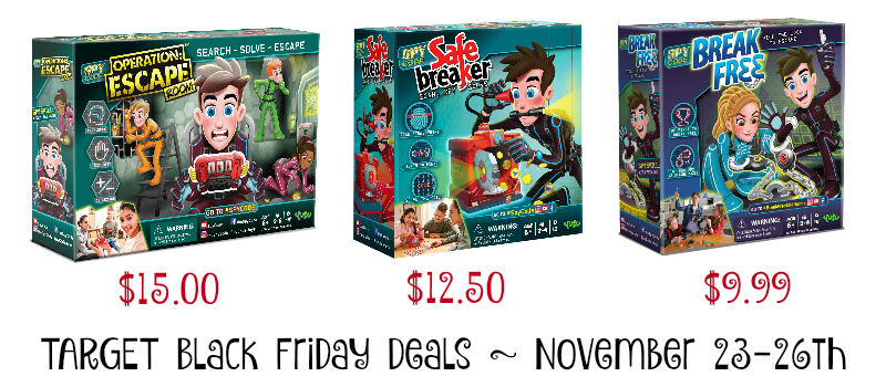 Spy Code Black Friday Deals