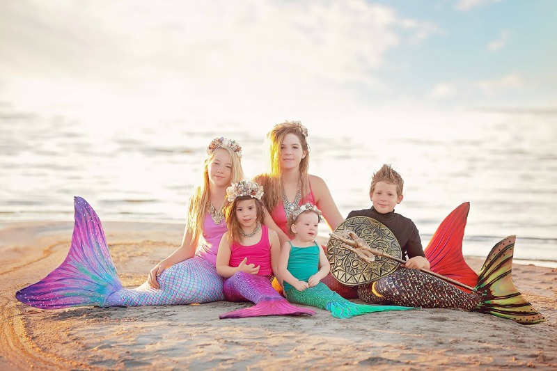 Sun Tail Mermaid Tail and Monofin Sets #HotHolidayGifts2017