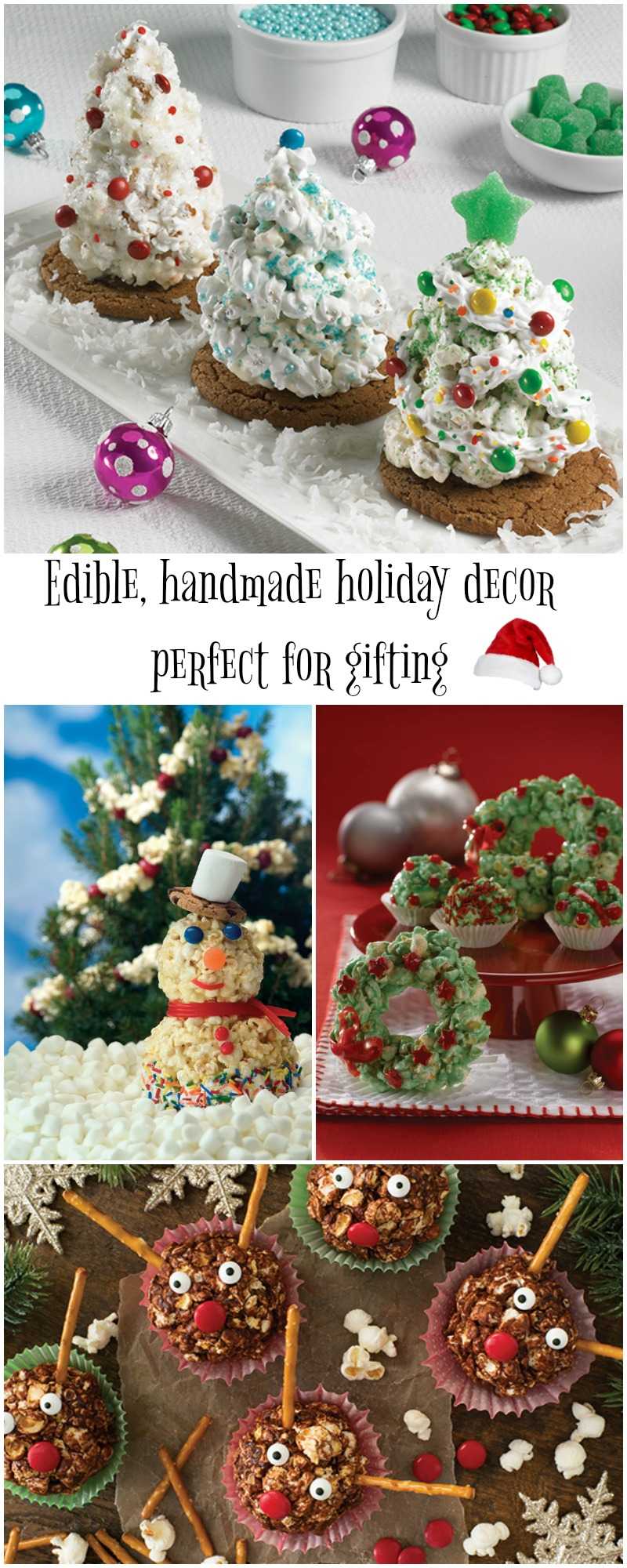Popping Up a Winter Wonderland with Edible, Handmade Decor