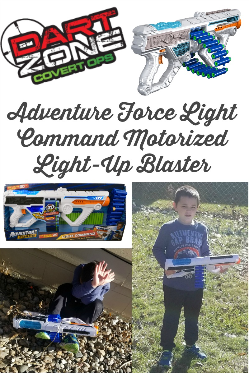 Adventure Force is Great for Boy's Who Like to Play with Toy Guns