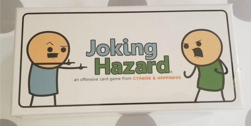 Cyanide & Happiness Joking Hazard is a Terrible Must Have Card Game + Giveaway #HotHolidayGifts2017