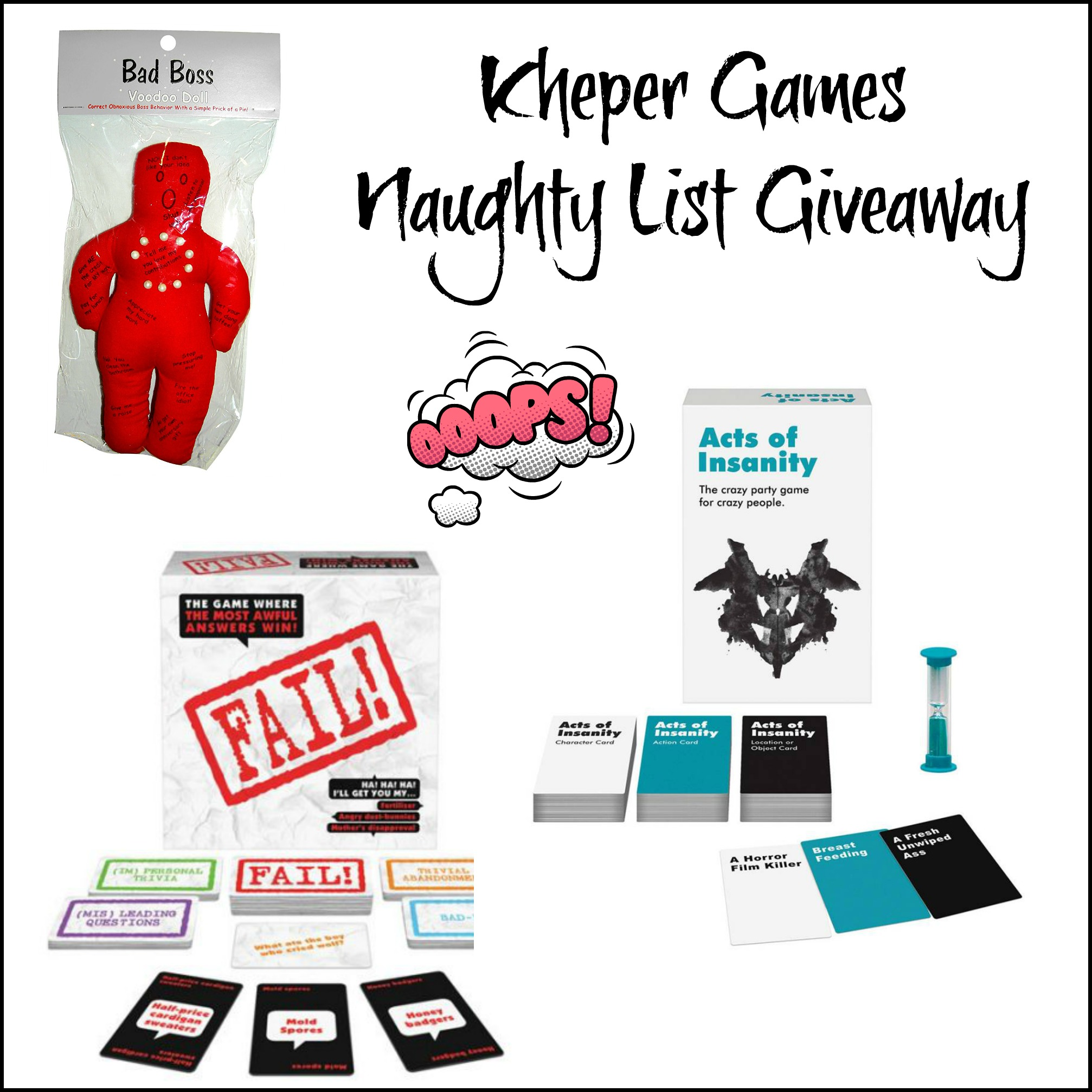 Kheper Games Naughty List Giveaway