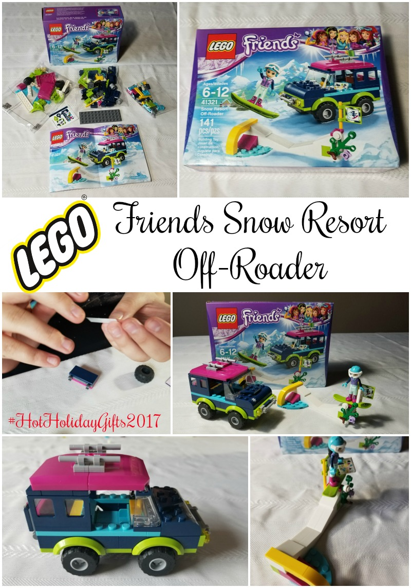 LEGO Friends Snow Resort Off-Roader #HotHolidayGifts2017