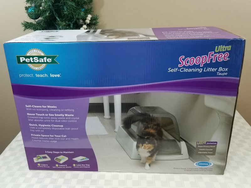 Santa Please Bring a PetSafe ScoopFree Ultra Self-Cleaning Litter Box for Christmas #HotHolidayGifts2017
