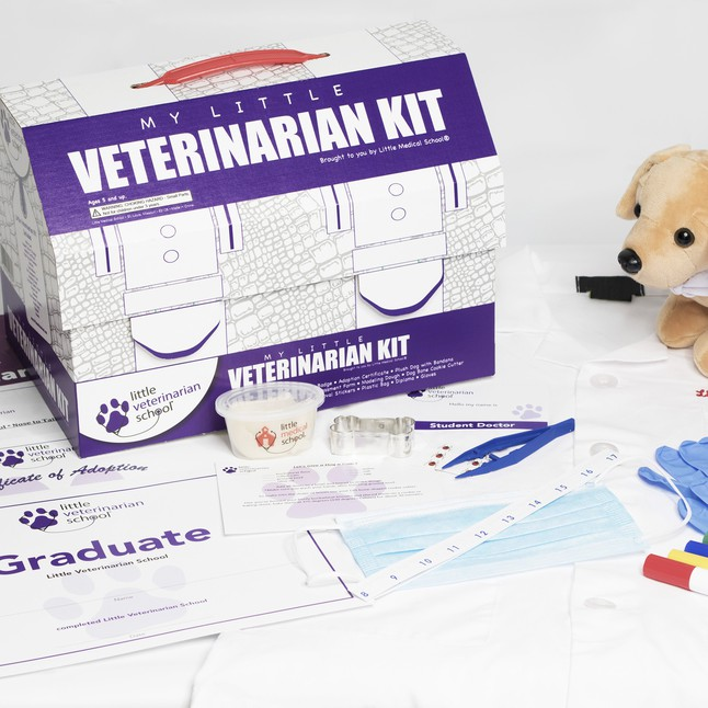 Little Medical School Veterinarian for the Mini Doctor in the Family #HotHolidayGifts2017