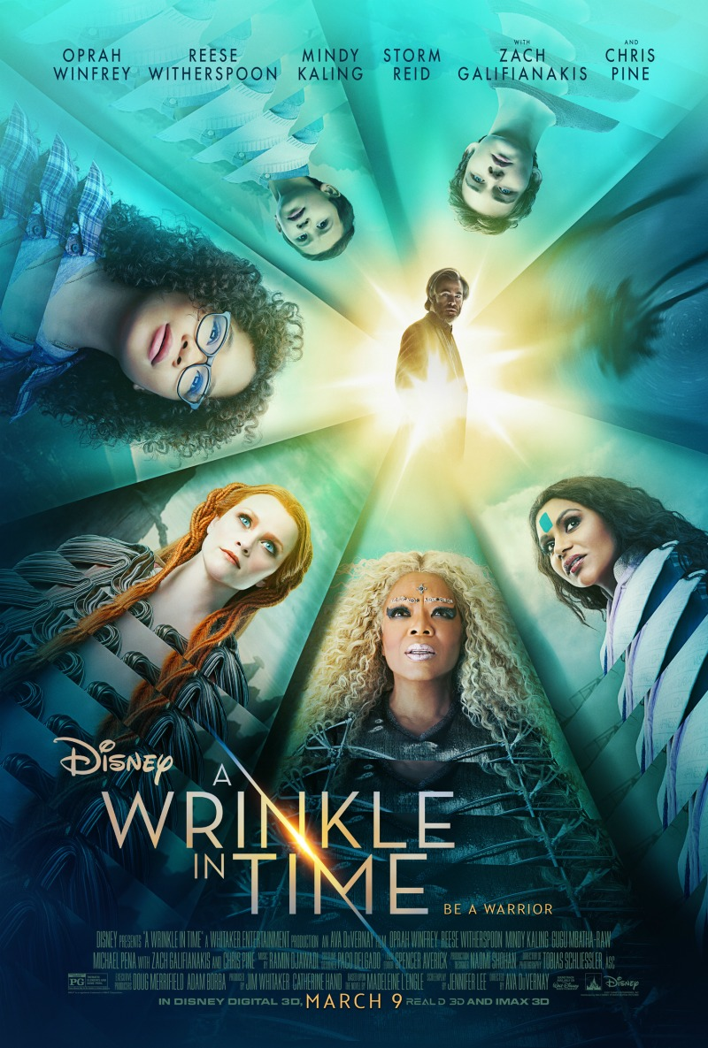 """A Wrinkle in Time"" opens nationwide on March 9, 2018."
