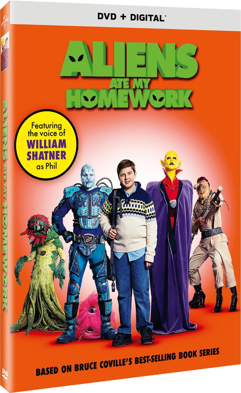 Aliens Ate My Homework Blu-Ray Cover