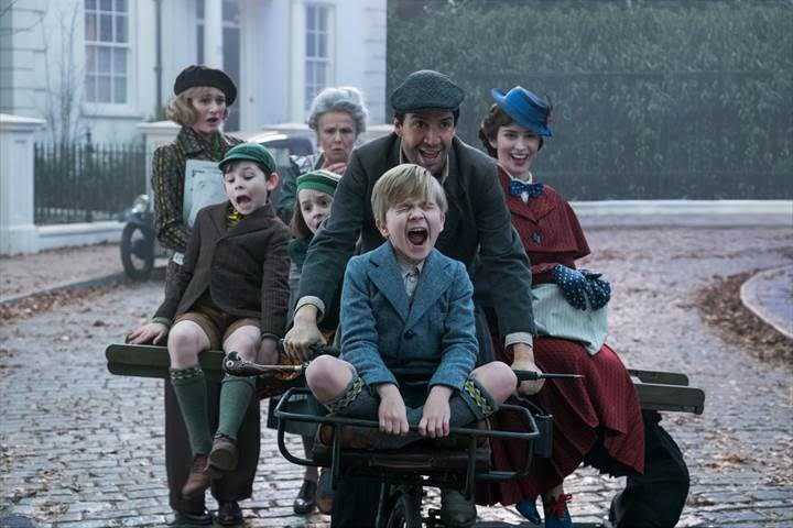 """Mary Poppins Returns"" will be released in U.S. theaters on December 25, 2018."